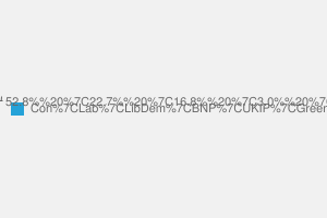 2010 General Election result in Chingford & Woodford Green